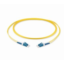 LC Duplex to LC Duplex Patch Cord, 2 F, Zipcord Tight-Buffered Cable, LSZH, 2.0 mm Legs, Single-mode (OS2), 2 m