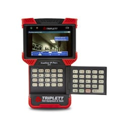 The CamView IP Pro+ (8071) IP Security Camera Tester supports H.264 IP cameras, as well as NTSC/PAL and AHD 1.0 and HD-TVI 2.0 analog video cameras.
