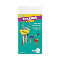 17108                         KEY BANDS MED,8/PK            UPC 85721171086