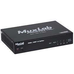 HDMI/HDBT 1X4 SPLITTER,       RS232, UHD-4K, U