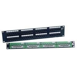 Patch Panel 48 Port UTP Unshielded Telco-Mod 8W8P 100  sc 1 st  Anixter : 100 base t wiring - yogabreezes.com