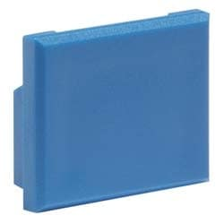 M21 Dust Cover for M-Series Faceplates and Outlets, blue
