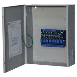 Contrôleur d'accès puissance avec encl, 8 fusible sortie, fai de déclenchement