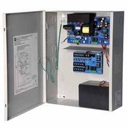 Access Power Distribution Module w/ Power Supply/Charger, 5 PTC Class 2 Outputs, 12VDC @ 10A, FAI, 115VAC, BC400 Enclosure