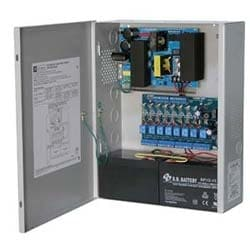 Access Power Controller w/ Power Supply/Charger, 8 Fused Relay Outputs, 24VDC @ 10A, FAI, 115VAC, BC400 Enclosure