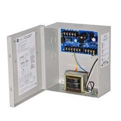 Access Control Power Supply Charger, 2 PTC Class 2 Outputs, 12/24VDC @ 1.75A, 115VA, BC100 Enclosure
