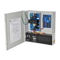 Access Power Distribution Module w/ Power Supply/Charger, 5 PTC Class 2 Outputs, 12/24VDC @ 4A, FAI, 115VAC, BC300 Enclosure