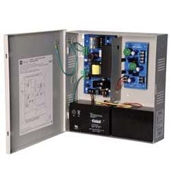 Power Supply Charger, 3 PTC Class 2 Outputs, 5/12/24VDC @ 3A, 115VAC, BC300 Enclosure