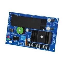 Fire/ access power supply board, 12/ 24 V DC @ 6 a, single out, xfmr req'd