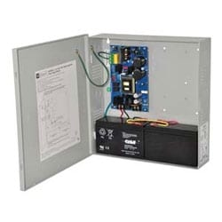 Power Supply Charger, Single Class 2 Output, 12/24VDC @ 6A, 115VAC, BC300 Enclosure