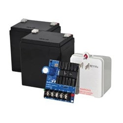 Linear Power Supply Charger, Single Class 2 Output, 6/12/24VDC @ 1.2A, 16 to 24VAC, Board, includes 2 - BT124 and TP2420