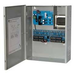 CCTV Power Supply, 16 Fused Outputs, (8 @ 12VDC and 8 @ 24VAC) @ 7A, 115VAC, BC400 Enclosure