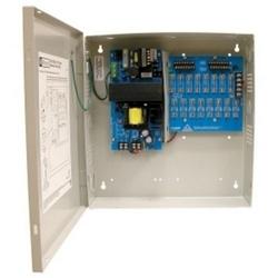 CCTV Power Supply, 16 Fused Outputs, 12/24VDC @ 6A, 115VAC, BC300 Enclosure