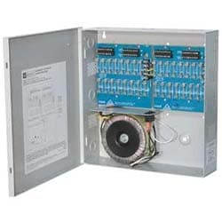 CCTV Power Supply, 32 Fused Outputs, 24/28VAC @ 14A, 115VAC, BC300 Enclosure