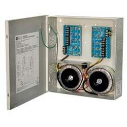 CCTV Power Supply, 8 Fused Outputs, 24/28VAC @ 25A, 115VAC, BC300 Enclosure