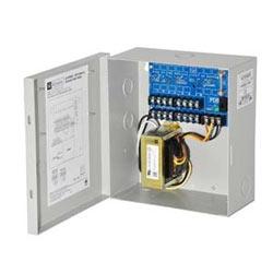 CCTV Power Supply, 8 PTC Outputs, 24/28VAC @ 4A, 115VAC,BC100 Enclosure