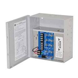 Alimentation CCTV, fondus de 4, 6-15 V DC @ 4 a, encl compact