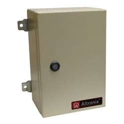 Linear Power Supply/Charger, Single Class 2 Output, AC Fail Supervision, 24VDC @ 2.5A, 115VAC, WP1 Enclosure