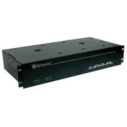Access Power Controller w/ Power Supply/Charger, 8 Fused Relay Outputs, 12/24VDC @ 6A, 115VAC, 2U
