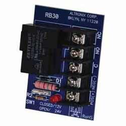 Relay mod, 12/ 24 V DC input, 30a spdt contacts
