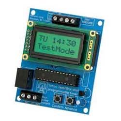 Minuterie multifonction deux stade 12 ou 24 V AC / V c.c, lcd display