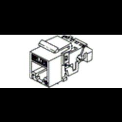 CAT5E EZ-MDVO prise modulaire, RJ45, KeyConnect, noir