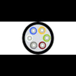 Câble de distribution - Riser OM3 12-fibre OFNR serré-tampon noir