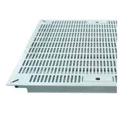 Imperial 1500 lb Universal Fit-All Panel, Slotted 610, Crystal White