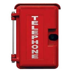 Red Heavy-Duty Outdoor Enclosure for E-1600A, K-1900W-2, W-2000A and E-20B