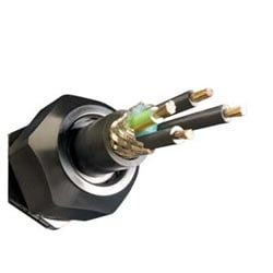 Industrial-Series-Cable, IndustrialSeriesV, 4 Conductor / 1 Pair, 14_14 AWG, Foil Braid, 600 V, PVC Jacket, XLPE Insulation, 0.743 Jacket Diameter, 41/30 Stranding, Motors and Drives