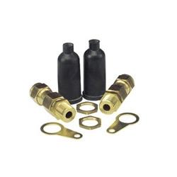 CX-40 OUTDOOR GLAND           C/W BRASS L/NUT PCP SHROUD    & EARTHTAG (PK OF 1)