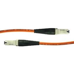 Multimode de 3,3ft / 2m 62,5 microns pour le cavalier 1-fibre Composite MT-RJ à MT-RJ, STANDARD PERFORAMCE OM1