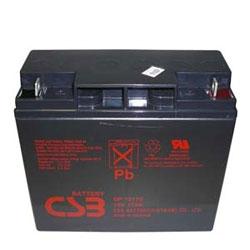 Battery, 12V, 17Ah, Standard Life General Purpose VRLA AGM, 1 Year Warranty (AGM)