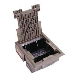 La couverture de moquette noire AF floorbox & trim