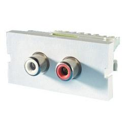 Série II, 2-RCA / RCA (110 IDC), 180º