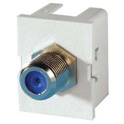 TracJack Module F Connector F/F, Cloud White