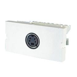 Série II, 1 connecteur mini-Din, 110 résiliation IDC, 180 degrés
