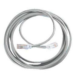 Clarity 6 Modular Patch Cord, 20', gray