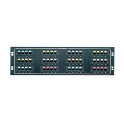 Mod 8/Telco panneau, 48-port quad / 4,5 / F50