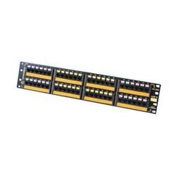 Panneau Ethernet rapide 10/100Base-T, 48 ports / 1,2,3,6