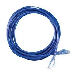 Modular patch cord, Cat 5e, four-pair, AWG stranded, PVC, length 5', blue