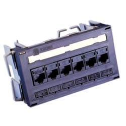 6653 1 608-00: PP C6T 6PORT UMS/MINI PAT