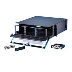 3U rack mount fiber cabinet for patching applications