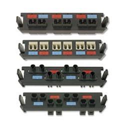6 duplex MT-RJ adapters (12 fibers)