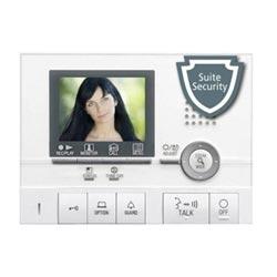 Station de locataire vidéo couleur mains libres avec Pic. Mémoire, Suite sécurité, Communication interne avec Gt-2H/Hb/Hs - blanc
