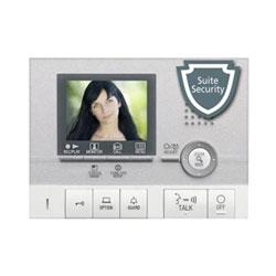 Station de locataire vidéo couleur mains libres avec Pic. Mémoire, Suite sécurité, Communication interne avec Gt-2H/Hb/Hs - argent