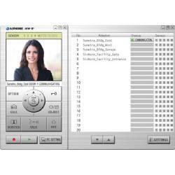 Interphone IP vidéo définie, porte de 1, 1 maître, jusqu'à 10 Pcs Jk-1Med, Jk-Da, Jkw-Ip, logiciel, Ps-1820Ul