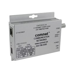 Small Size 10/100Mbps Media Converter, Commercial Grade Ethernet to Copper or COAX