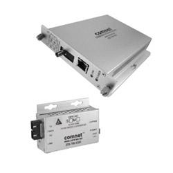 Convertisseur de média 100 Mbit/s (B), MM, connecteur ST, 1 fibre