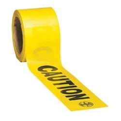 Barricade and Warning Tape - CAUTION - 200 ft.